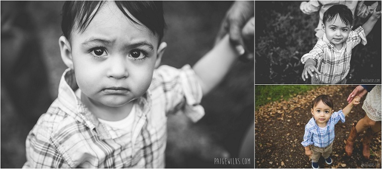 toddler portrait black and white photography