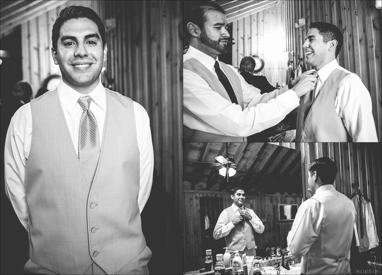 liz + justin   married