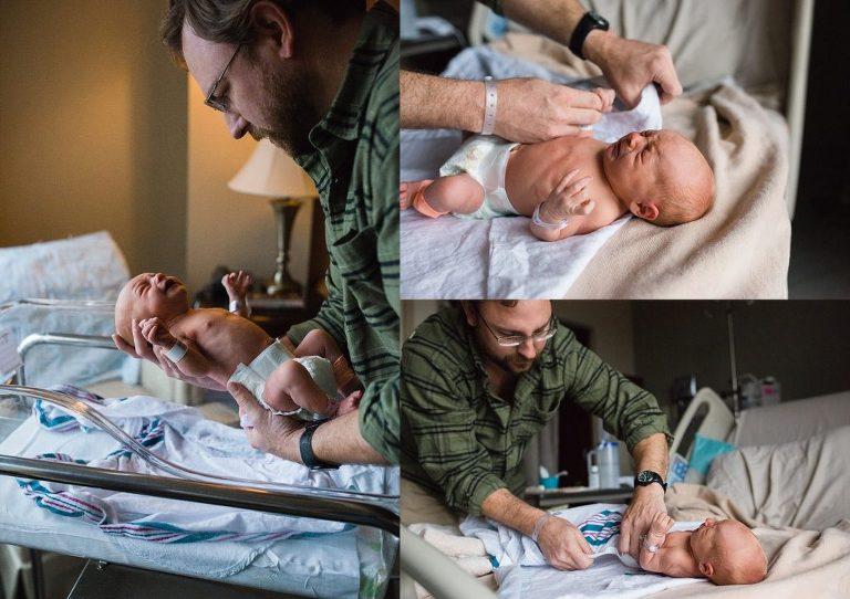 newborn hospital photos austin